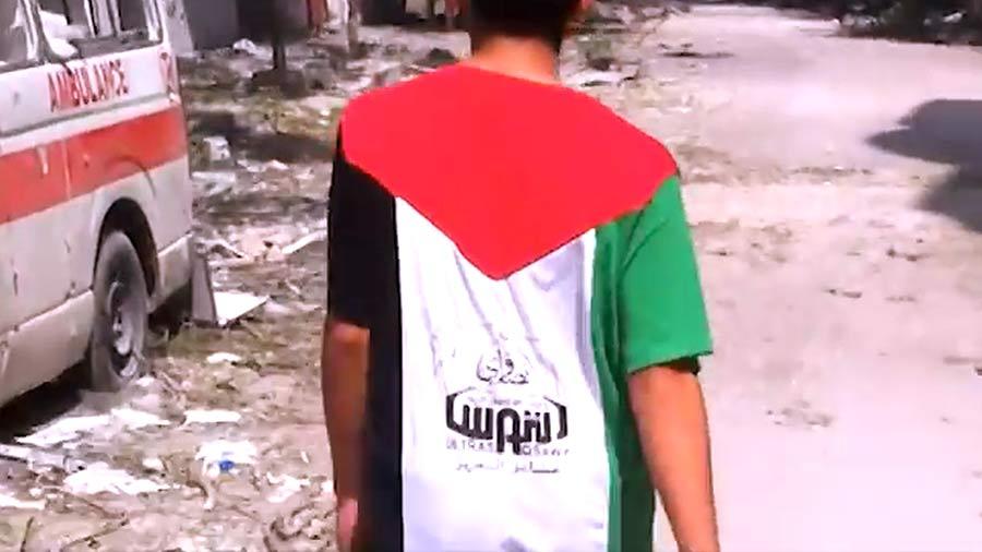 Derrière les fronts, behind the fronts, gaza