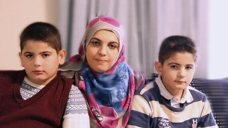 Deema et ses enfants